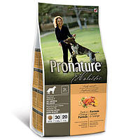 Сухой корм для собак Pronature Holistic Adult Duck&Orange с уткой и апельсинами без злаков (13.6 кг.)