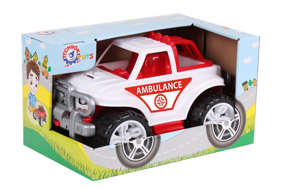 *Транспортна іграшка Позашляховик