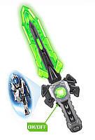 Меч игрушечый SPACE  со светом, работают от батарей, фото 2