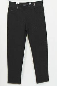 Турецкие женские брюки с россыпью страз больших размеров 48-64