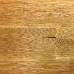 Паркетна дошка Дуб Рустик світло-коричневий