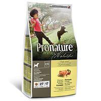 Сухой холистик корм для щенков всех пород Pronature Holistic Puppy Chicken&Sweet Potato (2.72 кг.)