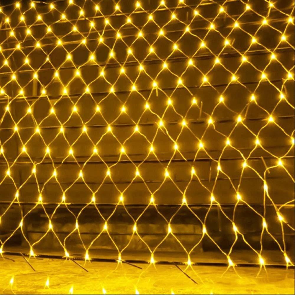 LED Гирлянда-сетка 120 лампочек 1,5 м*1,5 м Белый Теплый