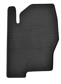 Водительский резиновый коврик для Nissan Navara D40  2005-2010 Stingray