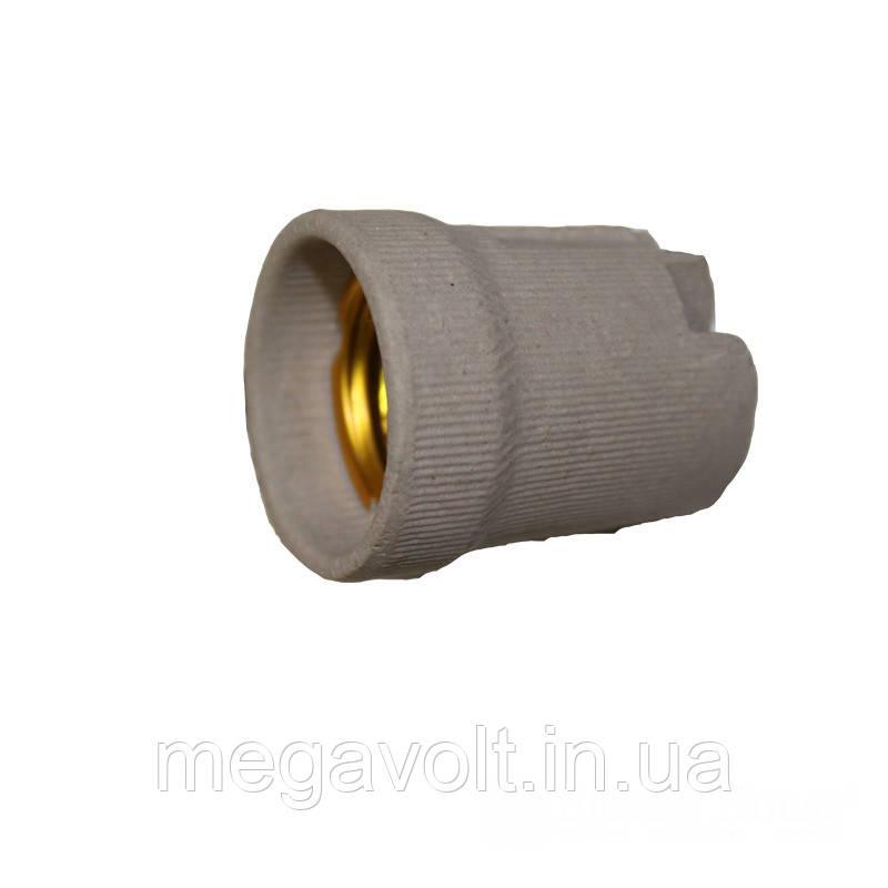 Патрон керамический без планки E27