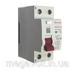УЗО 2P 16A 30mA 230-400V IP20