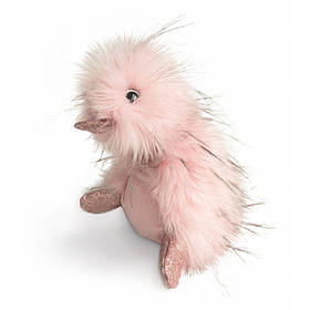 М'яка пухнаста іграшка coin coin 30 см рожева (CC7058)