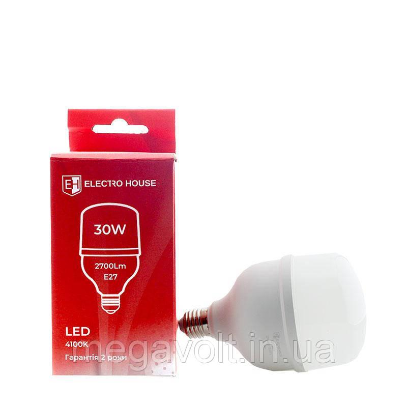 LED лампа E27 / 4100K / 30W 2700Lm /270° T80