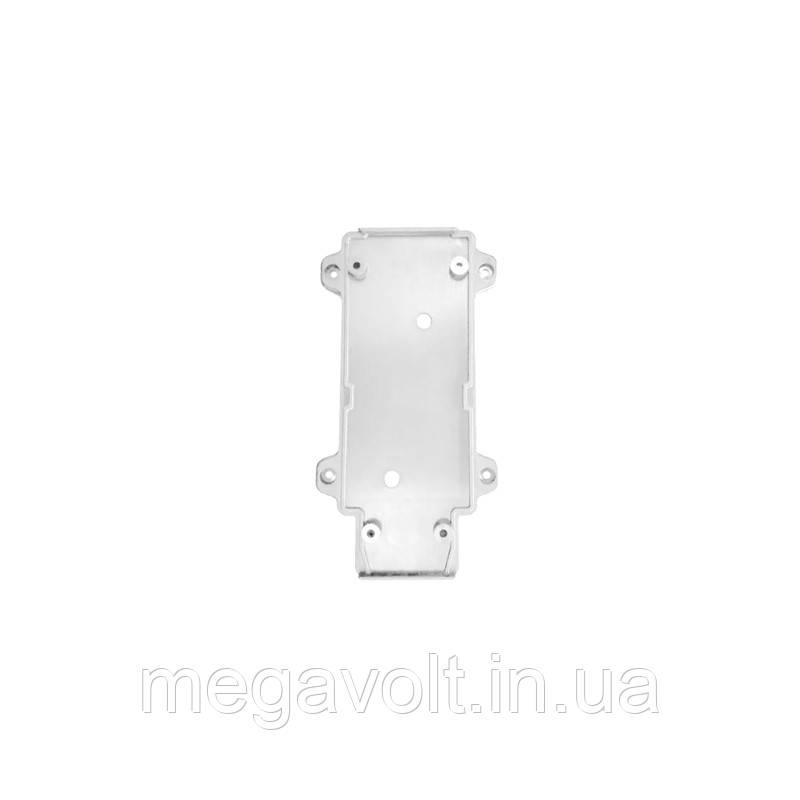 Настенное крепление белое, пластик, для трекового LED светильника 15W