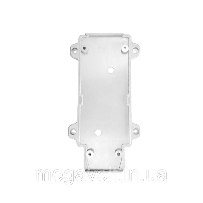Настенное крепление белое, пластик, для трекового LED светильника 20W