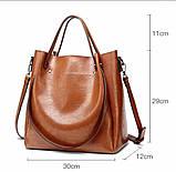Женская сумка лаконичная, фото 5