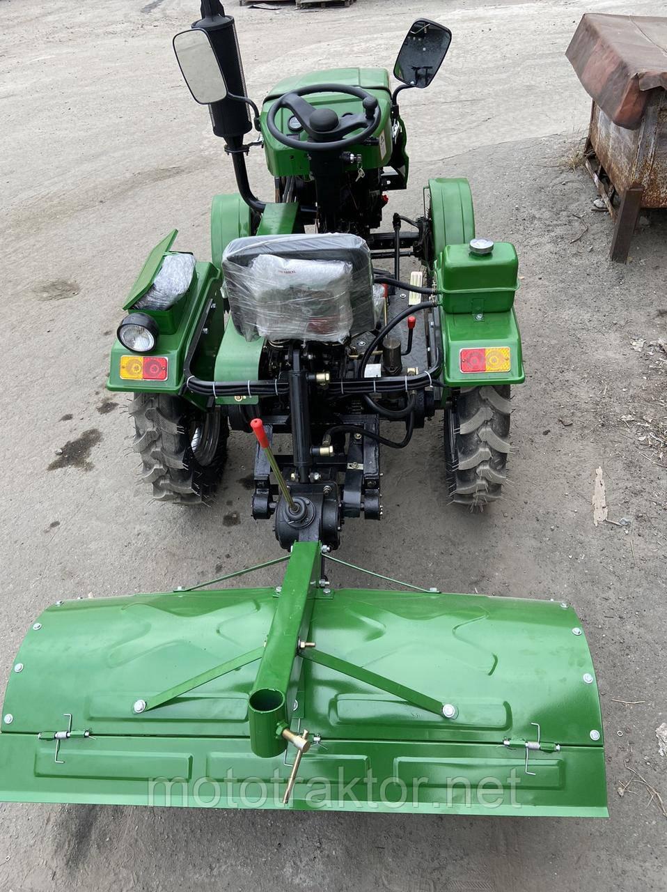 Минитрактор DW 160 RXL + почвофреза