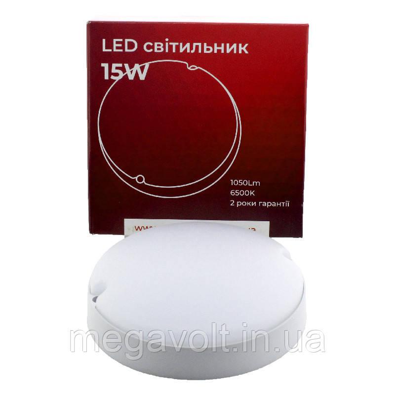 Светильник ЖКХ 15W 1050Lm 6500K IP54