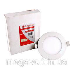 LED панель круглая 6W 4100К 540Lm Ø120мм