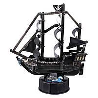 Тривимірна головоломка-конструктор корабель cubicfun помста королеви Анни (T4035h), фото 3