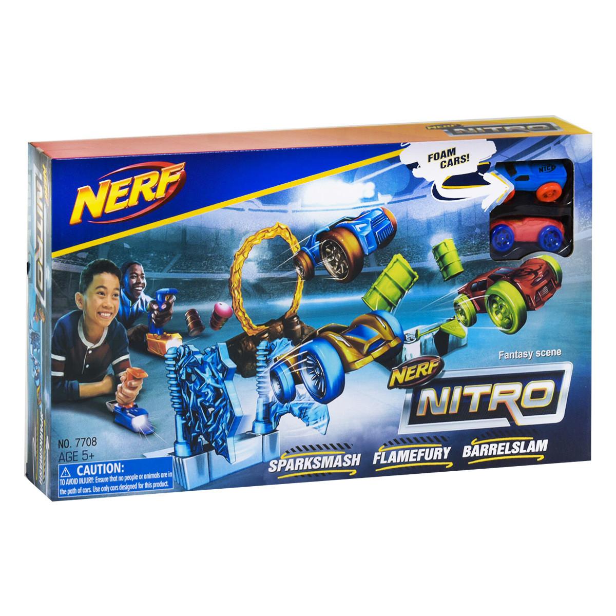 """Трек з запуском """"Nitro"""" (7708) з машинками"""