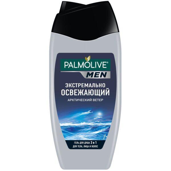 Гель для душа Palmolive Men Арктический ветер 3 в 1 для тела, лица и волос 250 мл