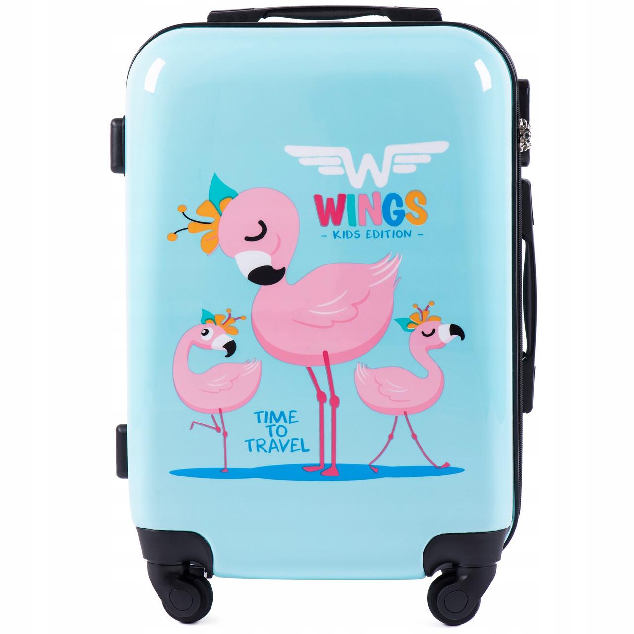 Чемодан детский Wings K310 KIDS01 Маленький XS