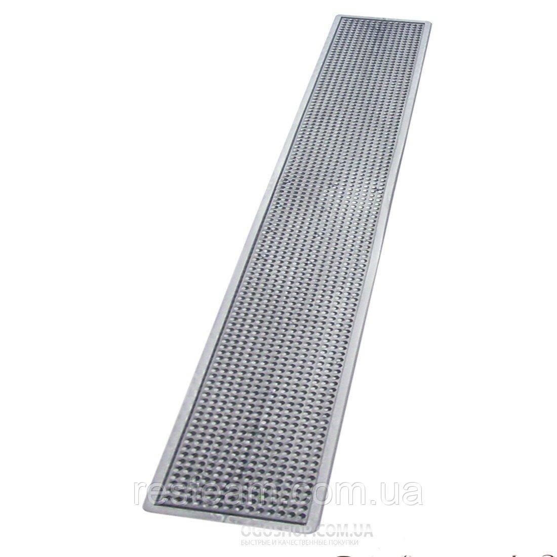"B008MS Барный коврик 70*10 см серебро ""The Bars"""