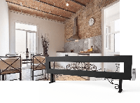 Дизайнерские обогреватели с художественной ковкой ТеплоМакс, длина 3 м