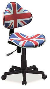 Крісло поворотне Signal Q-G2 Принт / Прапор OBRQG2FL