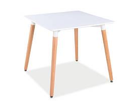 Стол обеденный Signal Nolan II / Белый / бук