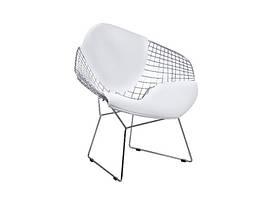 Кресло Signal Newton / Белый / Хром