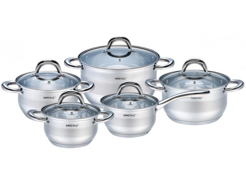 Набір посуду KingHoff 10 предметів, KH-1422