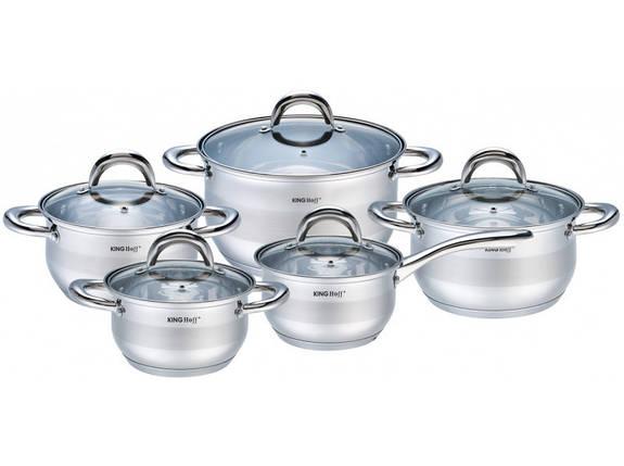 Набір посуду KingHoff 10 предметів, KH-1422, фото 2