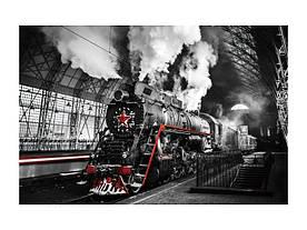 Картина на склі Signal Локомотив LOCOMOTIVE120