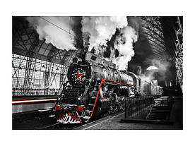 Картина на стекле Signal Локомотив