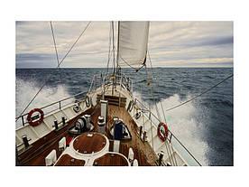 Картина на склі Signal Яхта YACHT120
