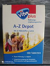 Вітаміни А — Z Depot, Vita plus 100 табл. Німеччина