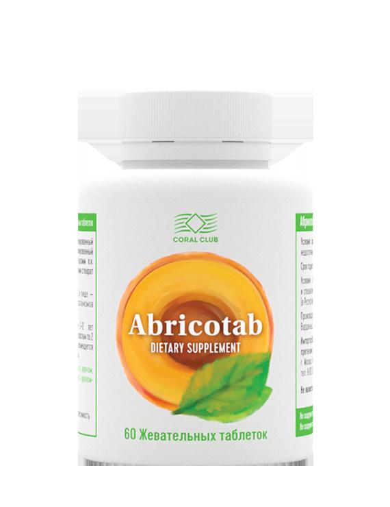 Абрикотаб 60 жевательных таблеток