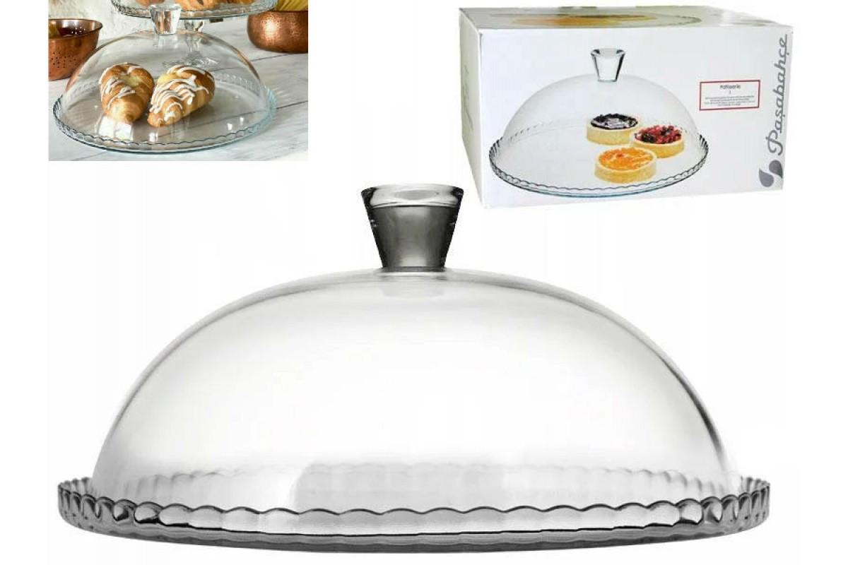 Блюдо с крышкой Pasabahce Патиссери, 32 см, 95198