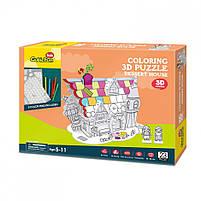Трехмерная головоломка-конструктор cubicfun десертный дом (P688h), фото 3
