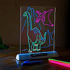 Магічна 3D дошка для малювання Magic Drawing Board   3D дошка для малювання   3D Планшет для малювання, фото 4