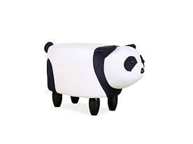 Пуф Signal Panda Paulinka / Белый / черный