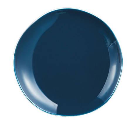 Тарелка обеденная Arcoroc Rocaleo Marine, круглая, 25,5 см, N9050, фото 2