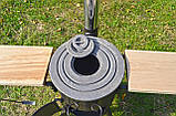 Печь под казан ТРОЯН ПРО с дымоходом, фото 2