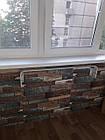Самоклеющиеся обои Декоративная 3D панель ПВХ 1 шт, синее дерево, фото 5