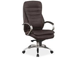 Крісло поворотне Signal Q-154 / Коричневий OBRQ154BR