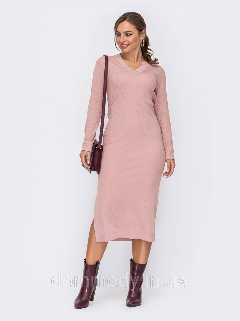 Платье женское Simple elegance powdery
