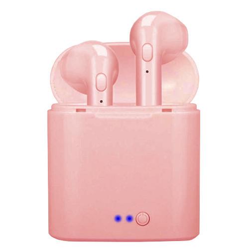 Бездротові навушники TWS i7 mini (Рожевий)
