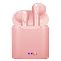 Бездротові навушники TWS i7 mini (Рожевий), фото 1