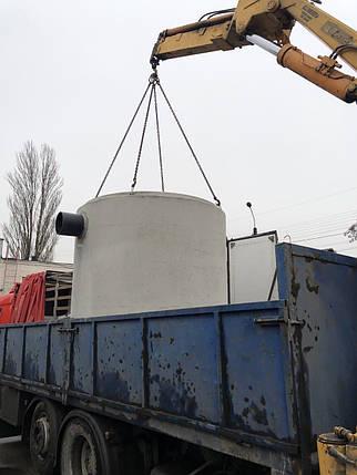 Сепаратор нефти до 3 л/с, железобетонный сепаратор нефтепродуктов с коалесцентным фильтром и байпасом, фото 2