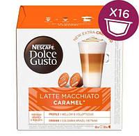 Кава в капсулах NESCAFE Dolce Gusto Latte Macchiato Caramel - 16 шт.