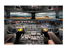 Картина на склі Signal Кокпіт літака AIRPLANECOC120