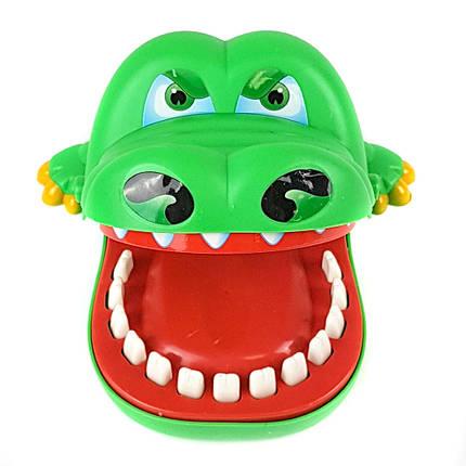 """Дитяча настільна гра QUNXING """"Крокодил-дантист"""", 2205, фото 2"""