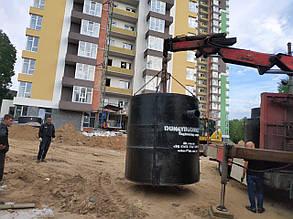 Сепаратор нефти до 4 л/с, железобетонный сепаратор нефтепродуктов с коалесцентным фильтром и байпасом, фото 2